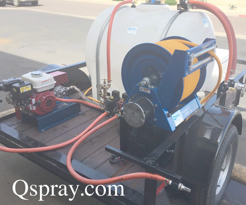 Weed Control Spray trailer