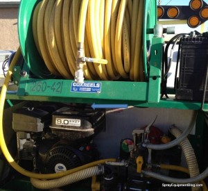 Power Sprayer Design Problem Gas Tank Access