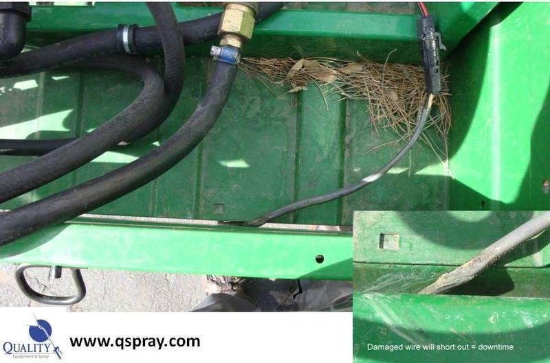 Weed sprayer wire problemx